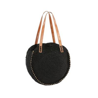 Round crochet shoulder bag - ELIPSOA