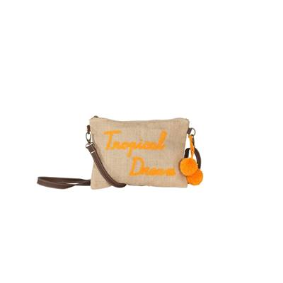 Sac Porté Travers Tweet Tropical Dream - Orange