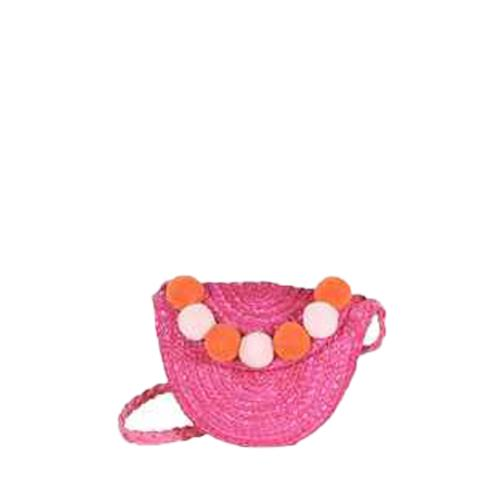 Children cross body bag with pompom - TROTTINE