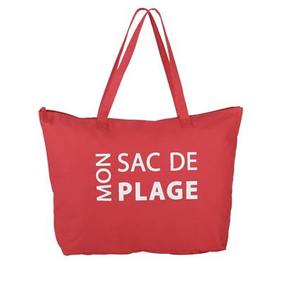 Beach bag cotton - mon sac de plage