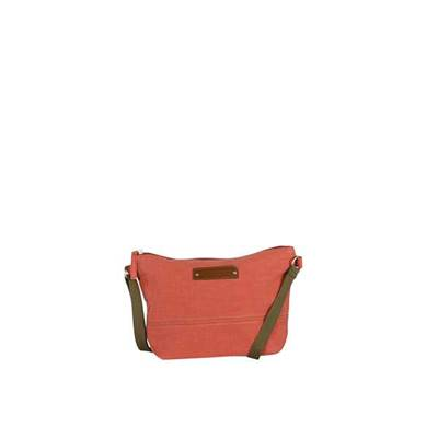 Colorful cross-body bag with contrasting handle - FIBI