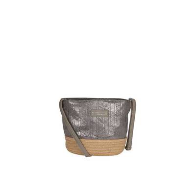Trendy cross body bag with etnic patern - CARLTON