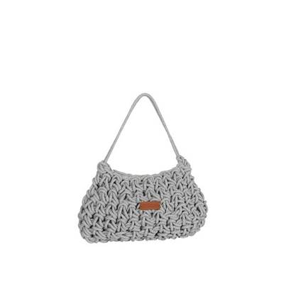 Colored rope shoulder bag - CORDELINE
