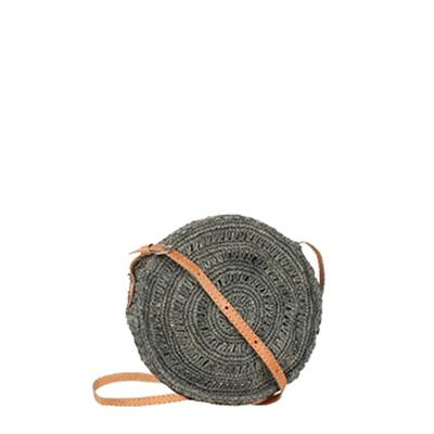Crochet round cross body bag - COLIMOA