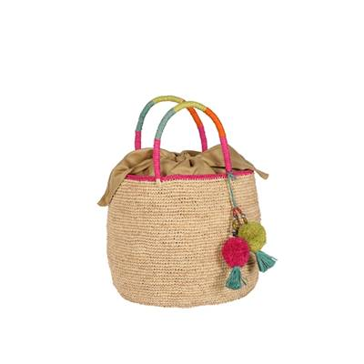 Crochet bucket handbag - BOLISOA
