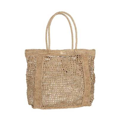 Large openwork crochet tote - MAILLOA