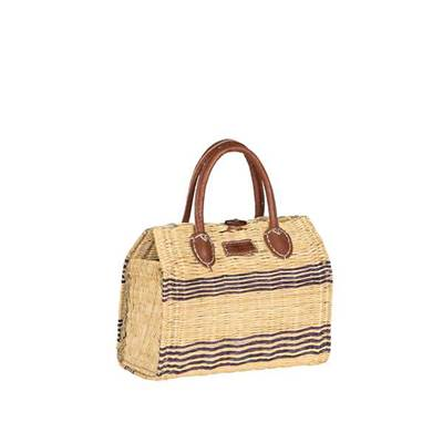 Trendy basket in briefcase format - MARABOUT